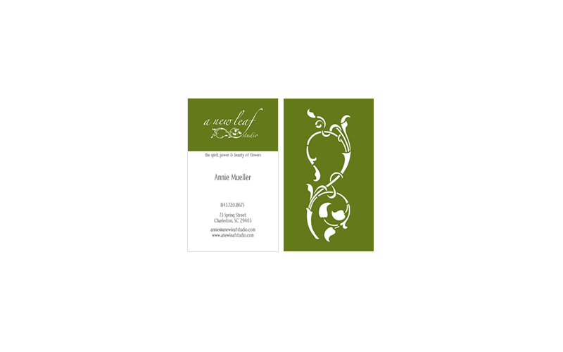 A New Leaf Business Cards