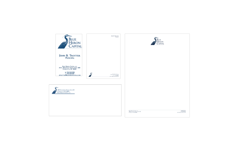 Blue Heron Capital Stationery