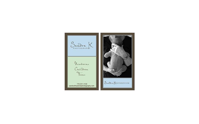 Sandra K. Business Cards