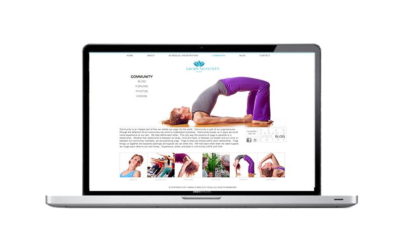 Sarah Faircloth Yoga Website