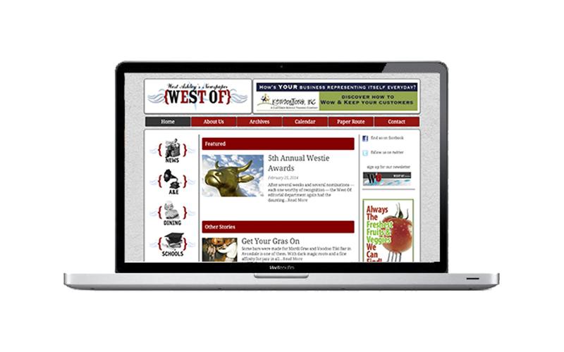 West Of Website